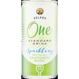 Photo of Selaks One Sparkling Sauvignon Blanc 200ml