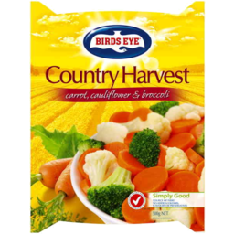 Photo of Birds Eye Country Harvest Carrot Cauliflower Broccoli 500g
