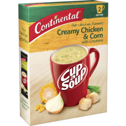 Photo of Continental Cup A Soup Creamy Chicken & Corn With Croutons 60g 60g