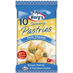 Photo of Borgs Feta Cheese Pastries 625g
