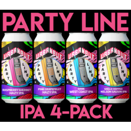 Photo of Urbanaut Party Line Mix 4 Pack