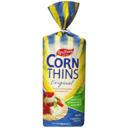 Photo of Real Foods Corn Thins Original 150gm
