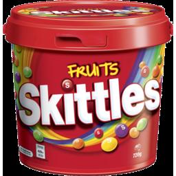 Photo of Skittles Fruits Bucket 720g
