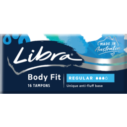 Photo of Libra Body Fit Regular Tampons 16 Pack