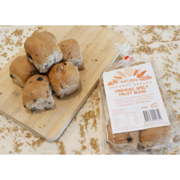 Photo of Naturis Bakery Spelt Fruit Buns (6 Pack)