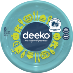 Photo of Deeko Dinner Plates 8 Pack
