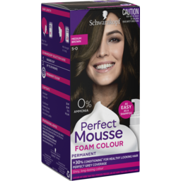 Photo of Schwarzkopf Perfect Mousse Med Brown#5.0