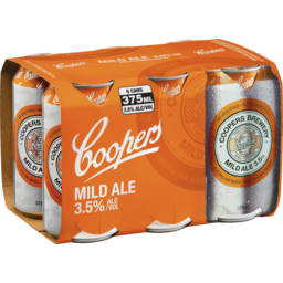 Photo of Coopers Mild Ale Cans