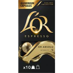 Photo of L'or Absolu Intensity 9 Coffee Capsules 10pk