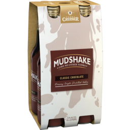 Photo of Vodka Cruiser Mudshake Chocolate 270ml 4 Pack