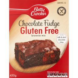 Photo of Betty Crocker Gluten Free Chocolate Fudge Brownie Mix 450g