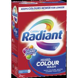 Photo of Radiant Mixed Colour Wash Laundry Powder 2kg