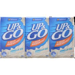 Photo of Up&Go Liquid Breakfast Vanilla Ice 3x250ml
