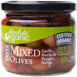 Photo of Absolute Organic Greek Mixed Olives 300g