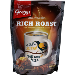 Photo of Gregg's Coffee Rich Roast Refill 100g