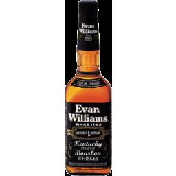 Photo of Evan Williams Black Bourbon Whisky