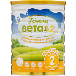 Photo of Farmers Beta A2 Follow On Formula Stage 2 6-12 Months 900g