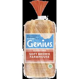 Photo of Genius Gluten Free Genius Soft Brown Farmhouse 535g