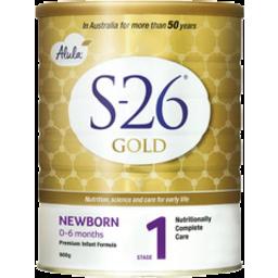 Photo of S-26 Gold Alula Newborn 900gm