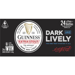 Photo of Guinness Extra Stout Stubbies