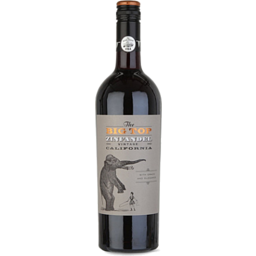 Photo of Big Top Zinfandel 750ml