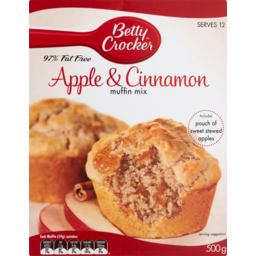Photo of Betty Crocker Apple & Cinnamon Muffins 500g