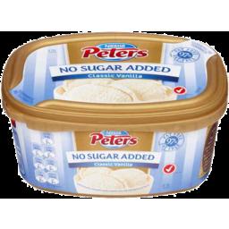 Photo of Nestle Peters No Added Sugar Classic Vanilla 1.2