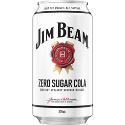 Photo of Jim Beam White & Zero Cola Can