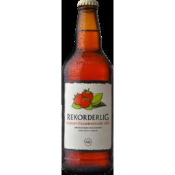 Photo of Rekorderlig Premium Strawberry-Lime Cider Bottles