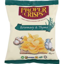 Photo of Proper Crisps Rosemary & Thyme 40g