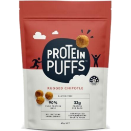 Photo of Protein Puffs Rugged Chipotle 43g