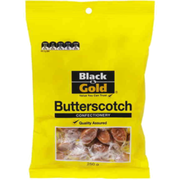 Photo of Black & Gold Butterscotch 250gm