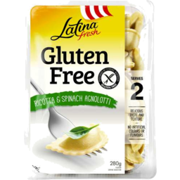 Photo of Latina Fresh Gluten Free Ricotta & Spinach Ravioli 280gm