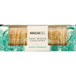Photo of Roccas Deli Crackers Sesame Poppy 100g