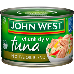 Photo of John West Tuna Chunk Style In Olive Oil 425g