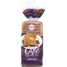 Photo of Cripps Cafe Quality Fruit Loaf 700gm