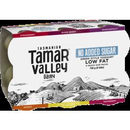 Photo of Tamar Valley Greek Style Yoghurt No Added Sugar 125gx 6pk