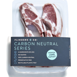 Photo of Flinders + Co Lamb Cutlets Kg