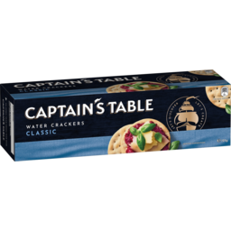 Photo of Captains Table Classic Water Crackers 125g