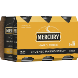Photo of Mercury Hard Cider Crushed Passionfruit Cans