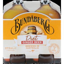Photo of B/Berg Diet Ginger Beer 375ml 4pk