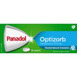 Photo of Panadol Caplets With Optizorb 12 Caplets