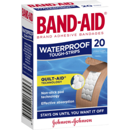 Photo of Band-Aid Brand Waterproof Tough Strips 20 Pack