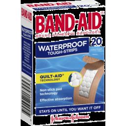 Photo of Band-Aid Toughstrips Waterproof Regular 20pk