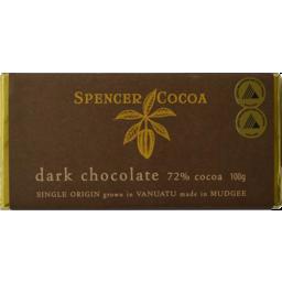 Photo of Spencer Chocolate Dark 72% 100g