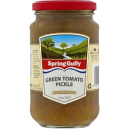 Photo of Spring Gully Green Tomato Pickle 440g
