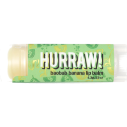 Photo of HURRAW:HW Baobab Banana Lip Balm 4.3g