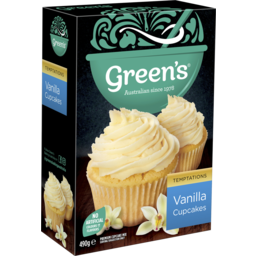 Photo of Greens Vanilla Cupcakes 490g