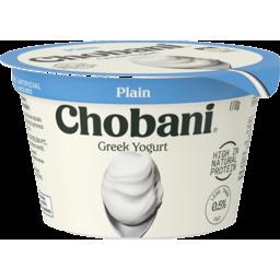 Photo of Chobani Yoghurt Plain 0 % 170gm