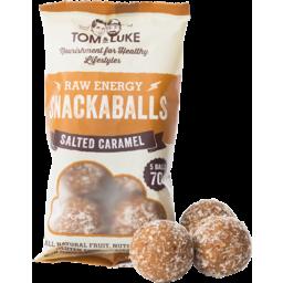 Photo of Snackaballs - Salted Caramel 5x70g